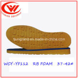 Mousse en caoutchouc Outsole pour des chaussures de gaines en cuir