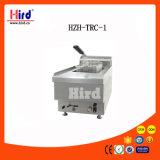 Máquina de la hornada del equipo del hotel del equipo de la cocina de la máquina del alimento del equipo del abastecimiento del Bbq del equipo de la panadería del Ce del tanque de la válvula profunda de la sartén del gas sola (Hzh-Trc-1)