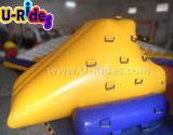 Parede de escalada inflável para parque aquático