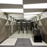 Soffitto di alluminio irregolare alla moda