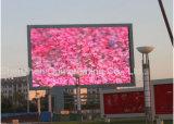 Panneau extérieur P10 d'Afficheur LED de fonction d'affichage vidéo de l'usage P10