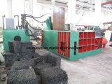 屑鉄の出版物のための安い水平の梱包機