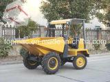 Type avant de chargeur et dumper hydraulique du site 1.5ton d'agriculture