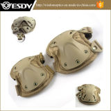 8 almofadas de joelhos protetoras militares táticas do cotovelo de Airsoft dos esportes das cores