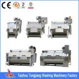 Aço inoxidável cheio que lava e máquina de tingidura/máquina de lavar industrial de matéria têxtil