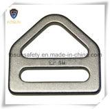 Anillos en D de conexión galvanizados de los accesorios de la seguridad de acero