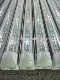 Высокая сдвоенная линия пробка светильника 2400mm 8FT пробки света 65W пробки люмена СИД T8 интегрированный освещая горячую пробку Jizz