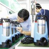 Selbstansaugende Kombination sauber/schmutzige versenkbare Pumpe hergestellt vom Edelstahl