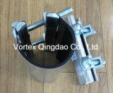Нержавеющая щелчковая струбцина ремонта для PVC/PE/Di