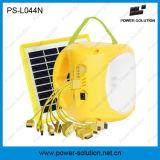 Lampada solare portatile della batteria di litio LED con il carico del telefono