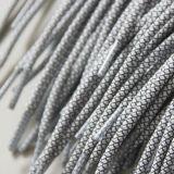 Lacets élastiques de cordon rond fait sur commande r3fléchissant (hzx-019)