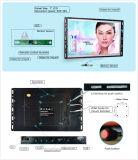 AC/Battery Frameless приведенное в действие пакетом способ 7 дюймов рекламируя медиа-проигрыватель