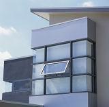 Finestra di alluminio della stoffa per tendine di vetratura doppia con la finestra di girata e di inclinazione