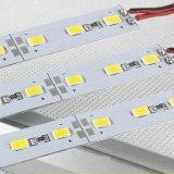 Indicatore luminoso di striscia rigido dell'alluminio LED dell'indicatore luminoso DC12V 72LED SMD 5630 della barra