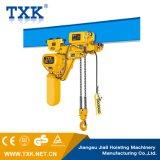 Txk 2tonの電気トロリーが付いている電気チェーン起重機