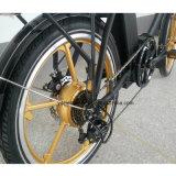 리튬 건전지 E 자전거를 가진 20 인치 전기 접히는 자전거