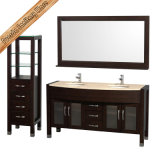 Fed-1079b 60 Inch - alto Quality Modern Solid Wood Bathroom Vanities Bath Furniture