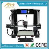 Nécessaire de bureau de l'imprimante 2016 3D, les composants de l'imprimante 3D avec des filaments d'ABS/PLA