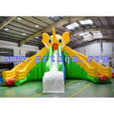Corrediça inflável gigante do PVC/corrediça inflável do parque de diversões/corrediça de água inflável