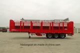 Carro/acoplado resistentes de la estaca del rectángulo del cargo de 3 árboles