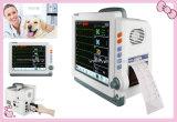 De Veterinaire Monitor van de Multiparameter van 12.1 Duim ECG, NIBP, SpO2, Temperaturen, Facultatief Goedgekeurd Ce van het Ziekenhuis ICU ccu-Maggie Ysd18c van de Printer Resp