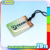 Identification de la porte 13.56MHz MIFARE Classic 1k crystal RFID key fob tag