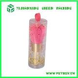 Rectángulo de empaquetado del cilindro cosmético plástico