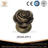 Het witte Ceramische Handvat van de Hefboom van de Deur met Groot Rond Uiteinde (Z6363-ZR05)