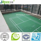 Coberta de borracha de capacidade elevada da corte de Badminton