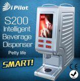 Máquina inteligente do café da tabela da parte superior do distribuidor da bebida S200