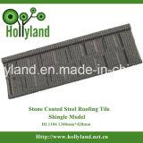 A pedra lasca telha de telhado revestida do metal (o tipo da ondinha)