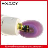 Thermomètre infrarouge de non contact de la température d'affichage à cristaux liquides Digital de contre-jour de laser du corps IR tenu dans la main