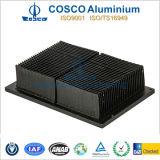 Aluminum/Aluminium Afgeschaafde Heatsink met het Anodiseren van de Kleur