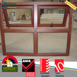 Woodgrain Soundproof Windows padrão australiano--Toldo Windows do PVC As2047