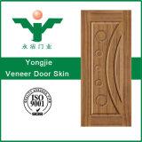 MDF di legno poco costoso della pelle HDF del portello dell'impiallacciatura