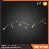 El nuevo hierro del diseño LED y la luz de cristal del punto 30W hacen en China
