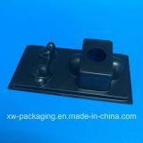 Het nieuwe Zwarte Plastic Dienblad van de Stijl voor de Verpakking van de Blaar van de Hardware