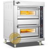 2 lagen 2 de Oven van het Gas van Dienbladen voor Zaken (wfc-202Q)