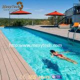 수영풀을%s UV 저항 옥외 방수 목제 플라스틱 합성 Decking