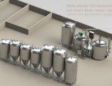 Strumentazione commerciale della birra della fabbrica su ordinazione della birra della strumentazione 1500L di preparazione della birra