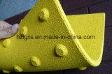 Цветастый Anti-Slip тактильный резиновый настил плитки для оптовой продажи