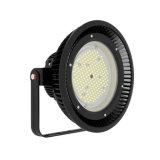 150W IP65 11 misura l'indicatore luminoso in pollici rotondo del UFO LED Highbay da 90 gradi