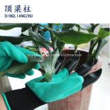 Перчатки сада с когтями напальчников для выкапывать и засаживать водоустойчивый