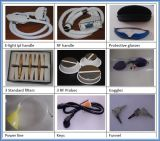 E-Luz IPL Depilator do RF do rejuvenescimento da pele de 2 punhos