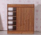 Armário de madeira da cremalheira de madeira contínua da sapata (M-X2099)