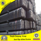 Prezzo del ferro per barra di angolo d'acciaio di tonnellata per la costruzione