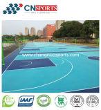 Hoher Reboud schöner farbiger elastischer Sport-Gerichts-Fußboden