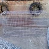 Caixa soldada galvanizada de Gabion do engranzamento de fio