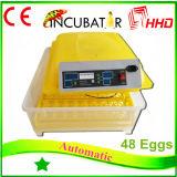 Ce keurde de volledig Automatische MiniIncubator van 48 Eieren in China goed