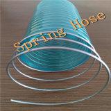 """1/2-8 """" fibre de PVC et fil d'acier renforcés/tuyau renforcé fil d'acier de spirale"""
